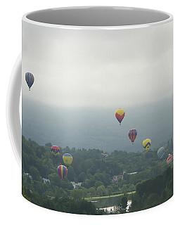 Balloon Rise Over Quechee Vermont Coffee Mug