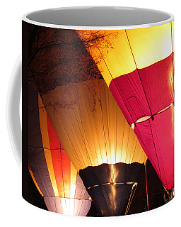 Balloons At Night Coffee Mug by Laurel Powell