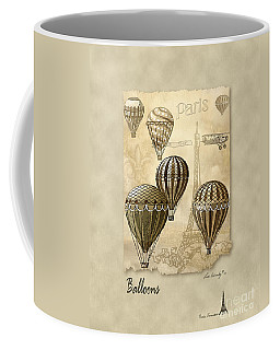 Balloons With Sepia Coffee Mug
