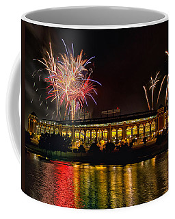 Ballpark Fireworks Coffee Mug