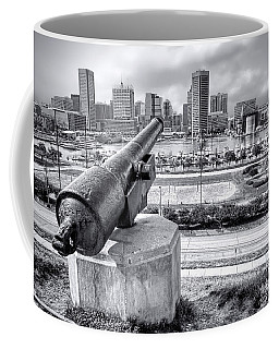 Baltimore Inner Harbor Skyline Coffee Mug
