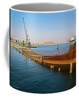 Coffee Mug featuring the photograph Baltimore Museum Of Industry by Brian Wallace