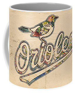 Baltimore Orioles Stylish Logo Coffee Mug
