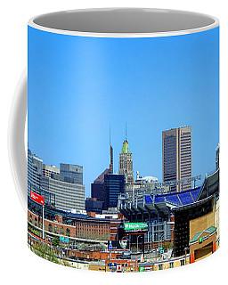 Baltimore Stadiums Coffee Mug