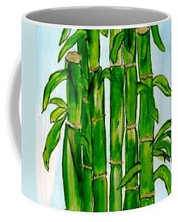 Bamboo On The Rocks Coffee Mug