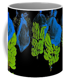 Coffee Mug featuring the photograph Banana Art by Rudi Prott