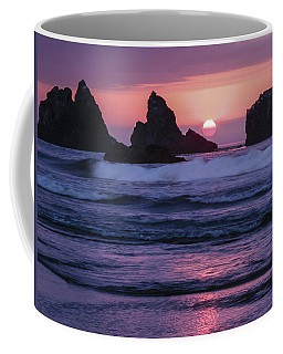 Bandon Beach Sunset Coffee Mug