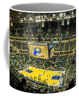Bankers Life Fieldhouse - Home Of The Indiana Pacers Coffee Mug