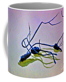 Coffee Mug featuring the painting Banksia Abstraction by Leanne Seymour