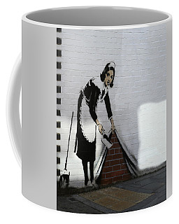 Banksy Maid Coffee Mug