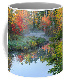 Bantam River Autumn Coffee Mug
