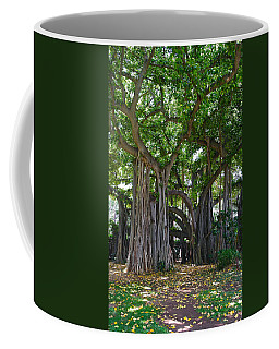 Banyan Tree At Honolulu Zoo Coffee Mug