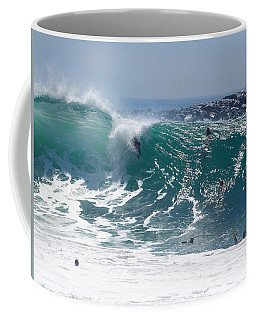 Banzai Coffee Mug by Joe Schofield