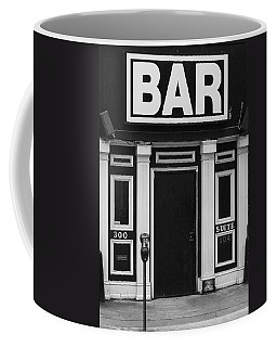 Coffee Mug featuring the photograph Bar by Rodney Lee Williams
