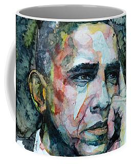 Barack Coffee Mug by Laur Iduc