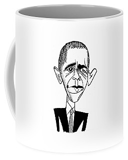 Barack Obama Suit & Tie Coffee Mug