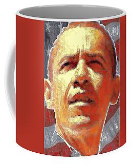 Barack Obama Portrait - American President 2008-2016 Coffee Mug