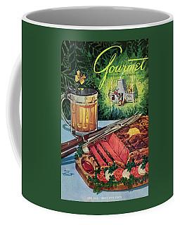 Barbeque Meat And A Mug Of Beer Coffee Mug