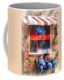 Barber - Neighborhood Barber Shop Coffee Mug