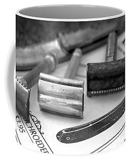 Barber Shop 20 Bw Coffee Mug