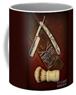 Barber - Tools For A Close Shave  Coffee Mug