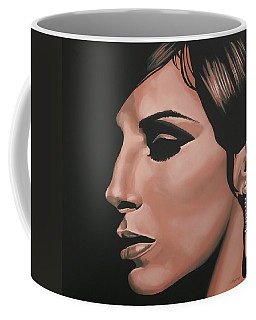Barbra Streisand Coffee Mug by Paul Meijering