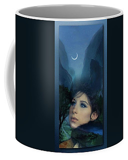 Barbra's Smiling Moon Coffee Mug