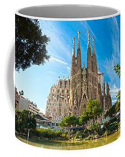 Barcelona - La Sagrada Familia Coffee Mug by Luciano Mortula