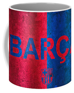 Barcelona Football Club Poster Coffee Mug