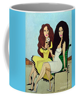 Barcelona Girls Coffee Mug by Don Pedro De Gracia
