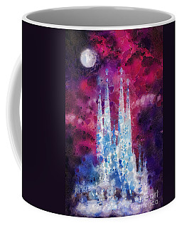 Barcelona Night Coffee Mug by Mo T