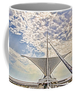 Coffee Mug featuring the photograph Bare Metal Mam by Daniel Sheldon