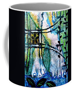 Barefoot In The Garden Coffee Mug