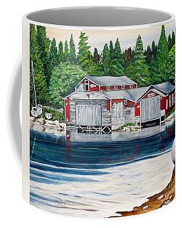 Barkhouse Boatshed Coffee Mug