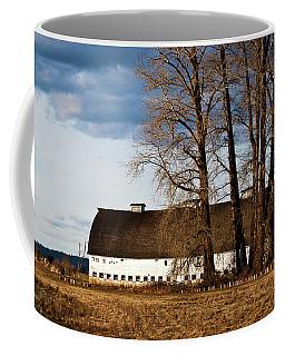 Barn And Trees Coffee Mug