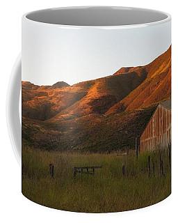 Barn At Garrapata State Park Coffee Mug