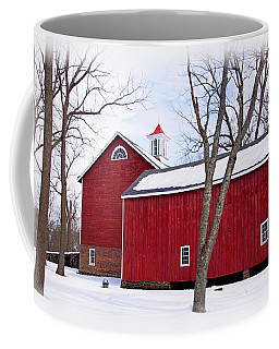 Barn At Tinicum Park Coffee Mug