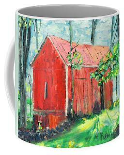 Barn At Walpack Coffee Mug