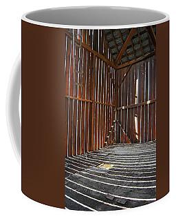 Coffee Mug featuring the photograph Barn Bones II by Jani Freimann
