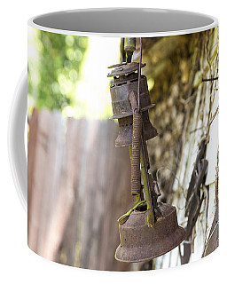 Coffee Mug featuring the photograph Barn Lantern  by Mez