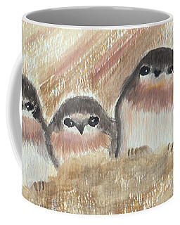 Barn Swallow Chicks Coffee Mug