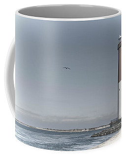 Coffee Mug featuring the photograph Barnegat Lighthouse by Beth Sawickie