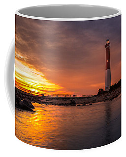 Barnegat Sunset Light Coffee Mug by Mihai Andritoiu