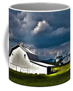 Barns And Radio Telescopes Coffee Mug