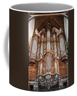 Baroque Grand Organ In Oude Kerk In Amsterdam Coffee Mug