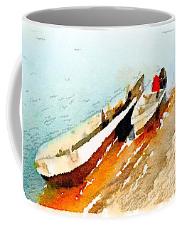 Barques Sur Le Chari Coffee Mug