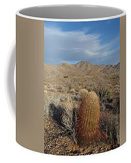 Barrel Cactus In Winter Coffee Mug