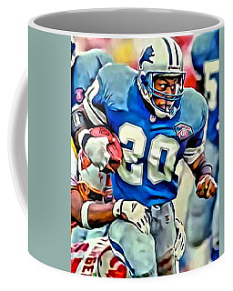 Barry Sanders Coffee Mug