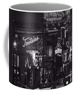 Bars On Broadway Nashville Coffee Mug