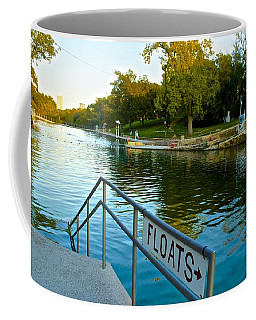 Barton Springs Pool In Austin Texas Coffee Mug
